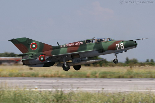 Bolgár MiG-21